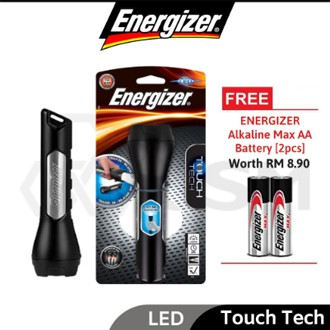 ENERGIZER THH21 Torch Light Handheld Light with Touch Tech Technology -FREE AA Battery 2pcs