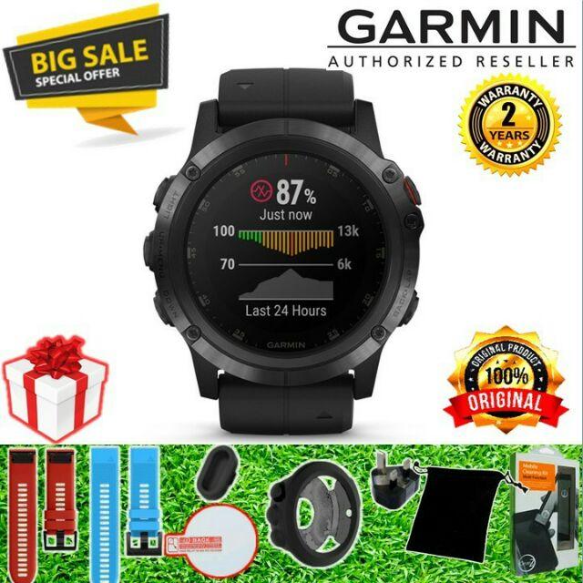 Garmin Fenix 5x Plus Sapphire Shopee Malaysia