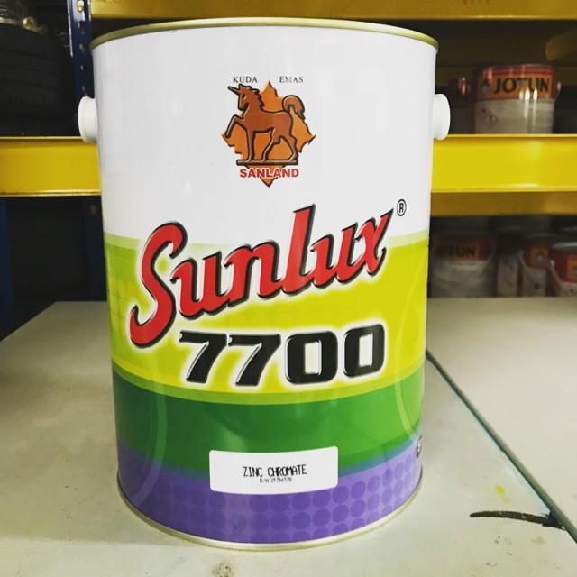 SANCORA / SUNLUX 7700 ZINC CHROMATE ANTI RUST PRIMER PAINT - 5LIT (NIPPON  PAINT)