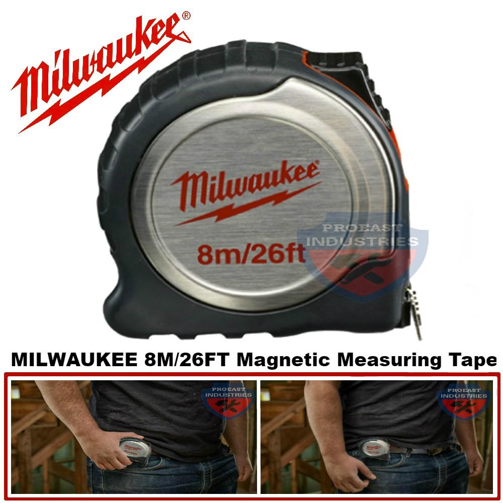 MILWAUKEE 8M/26FT Measuring Tape 48-22-6117