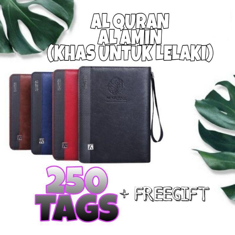 *250 TAGS*AL-QURAN TAGGING HUMAIRA EDISI AL AMIN Edisi Lelaki