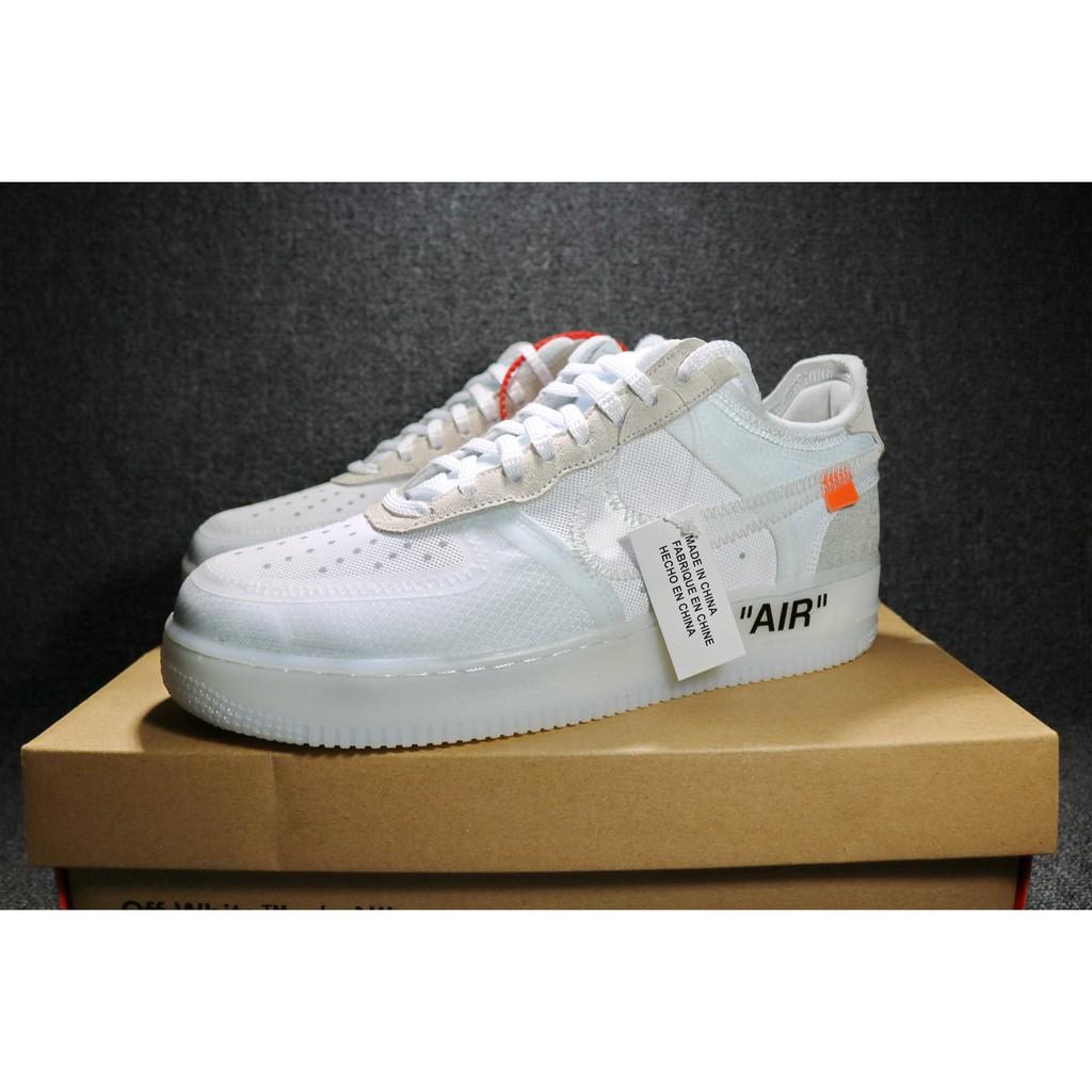 quality design e3621 6483c Off - White X Nike Air Force 1 Low Band Ao 4606 100   Shopee Malaysia