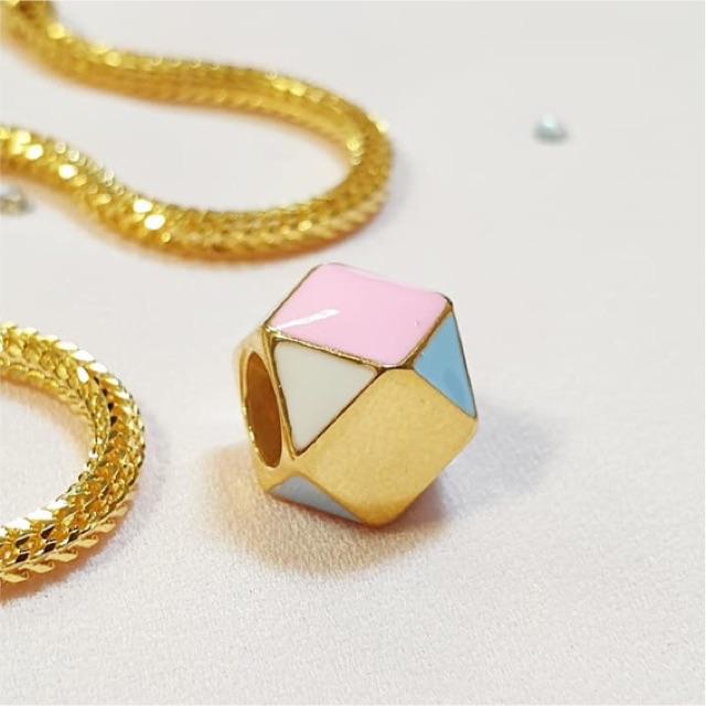 caaf80e376602 💖Charm enamel emas916 (pure 22k gold)