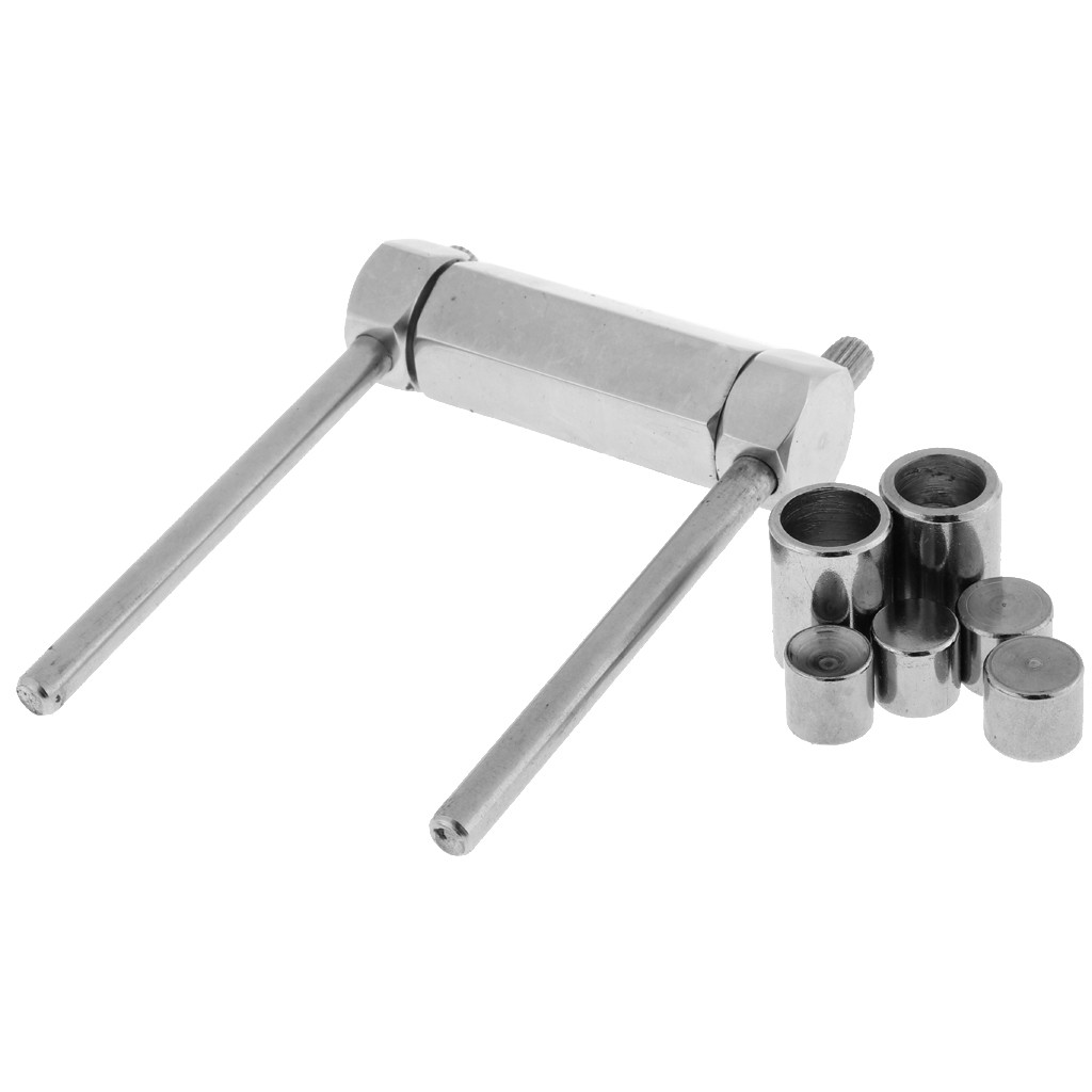 Metal Billiards Pool Cue Tip Press Shape Tool Snooker Tip Shaping Tube 11mm