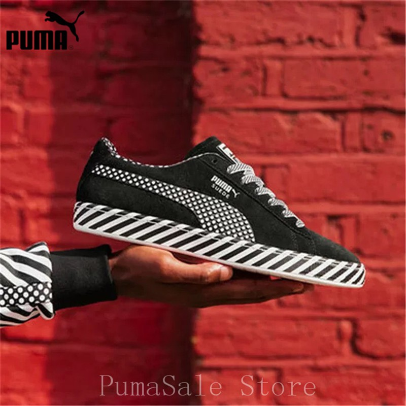 Puma Suede Classic Pop Culture shoes black white