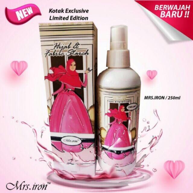 Mrs Iron Hijab & Fabric Starch
