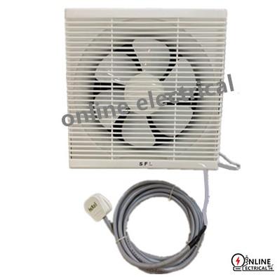 10 Wall Exhaust Fan 3 Core Flex