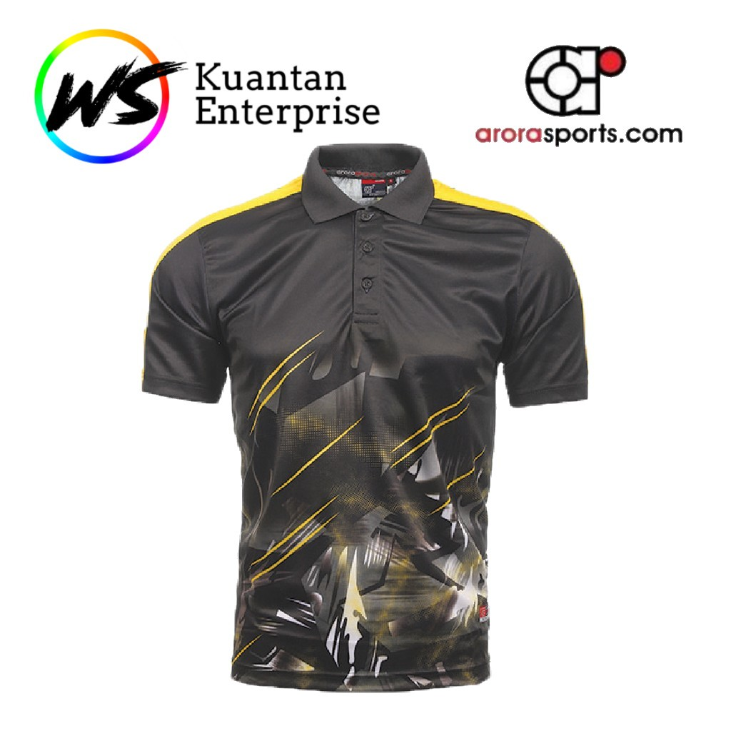 【100% Original】ARORA SPORTS Unisex Sublimation Polo Dry Fit Jersey - (MSP19 / MSP20)