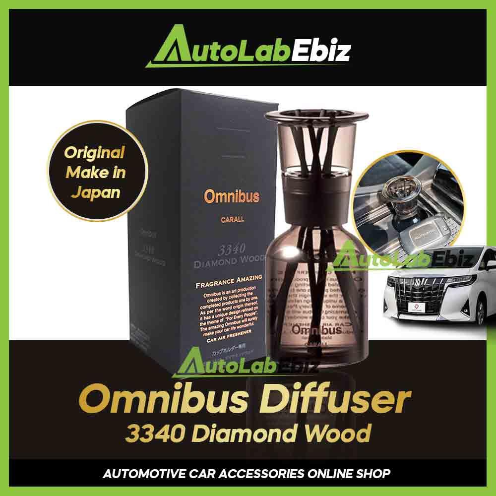 Carall Omnibus Diffuser 3340 Diamond Wood Air Freshener 160ml