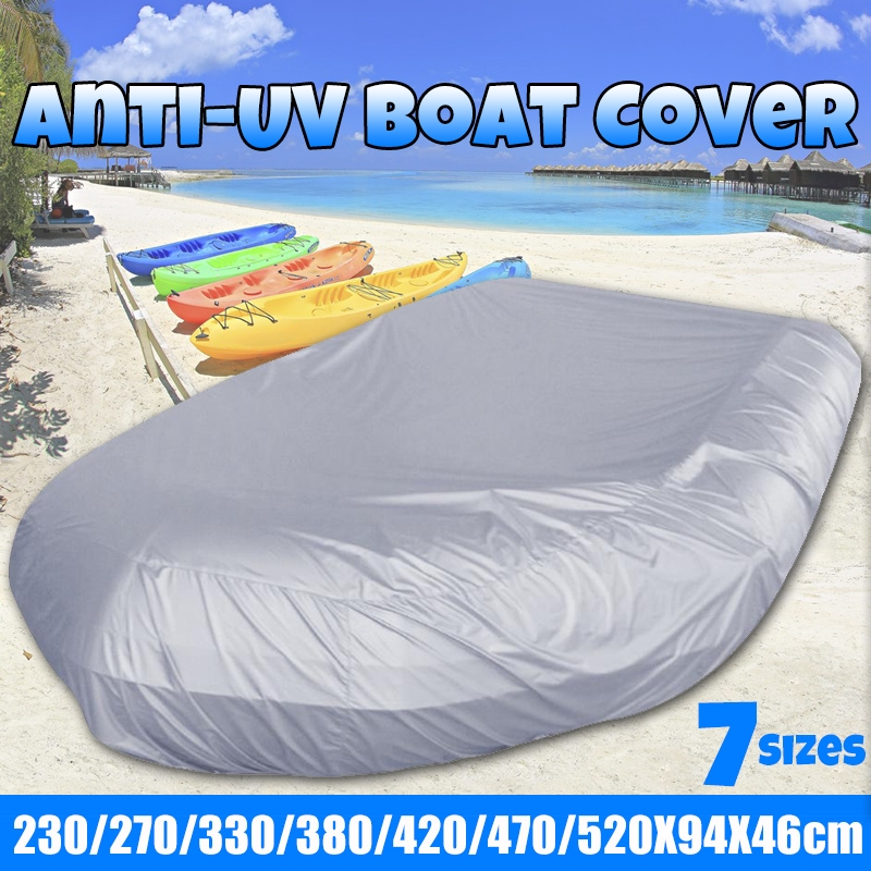 7 Size Premium Waterproof Anti-UV Inflatable Boat/Tender/Dinghy Cover  7 5ft-17ft