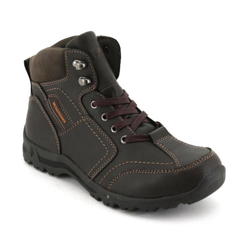 0bfd856fecba8c Weinbrenner Men's Outdoor Shoes - Khaki   Shopee Malaysia