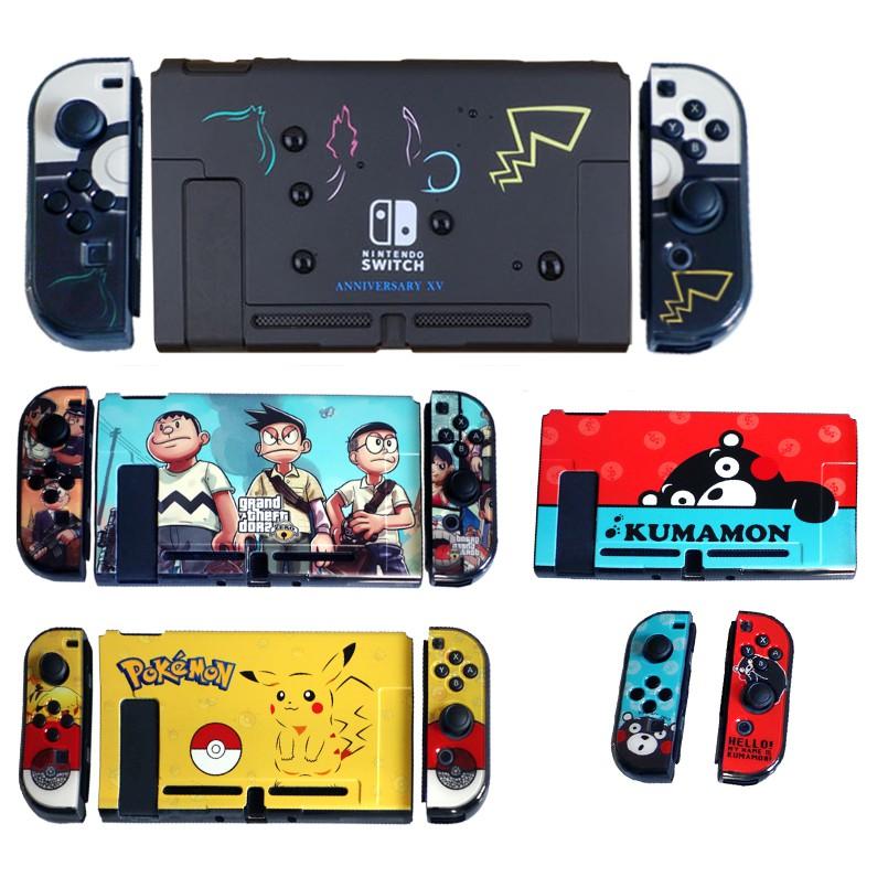 Dockable Case For Nintendo Switch Pokemon Theme Case For Switch & Joy-Con