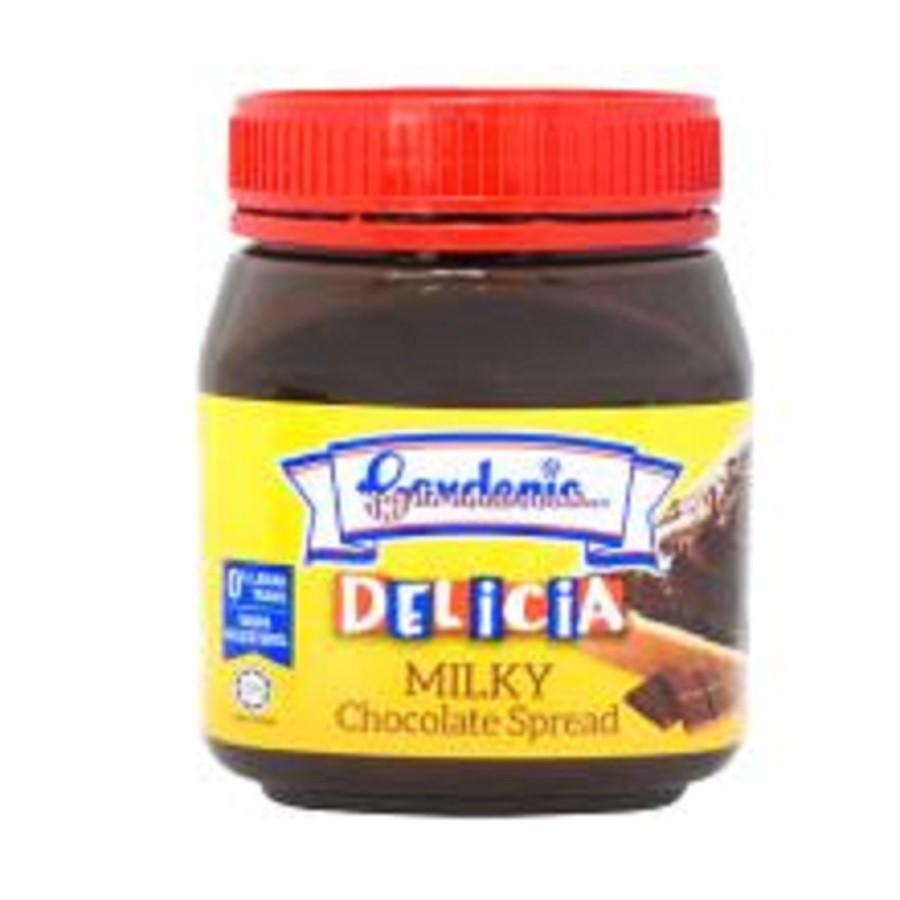 Gardenia Spread Delicia Milky Chocolate (200g)