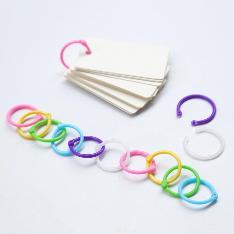UTH Circle DIY Album Loose Leaf Book Binder Hoop Ring