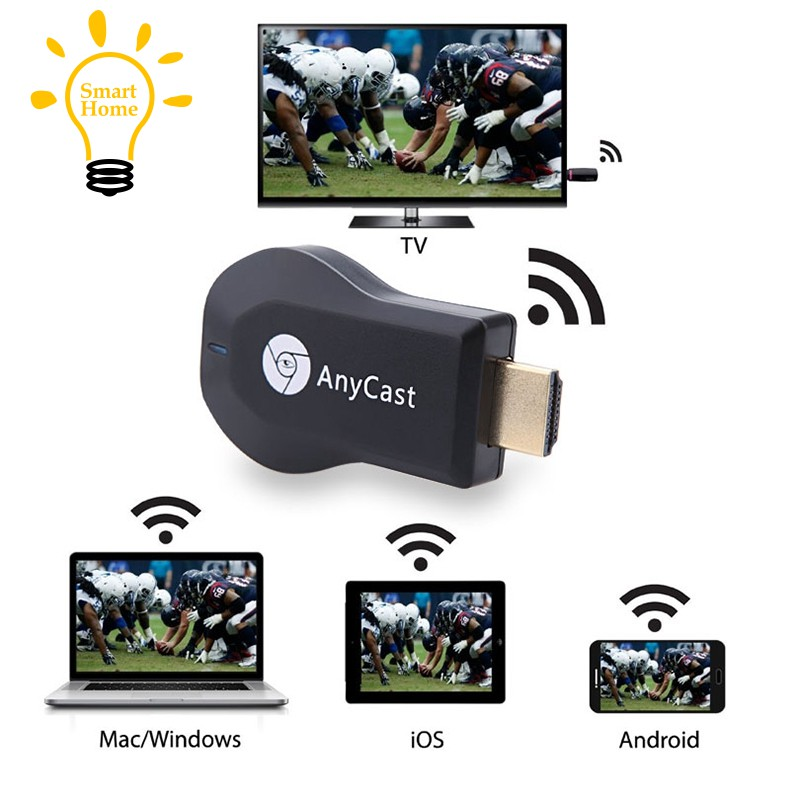 〔≈〕Miracast Wifi Display TV Dongle Wireless Receiver 1080P HD AirPlay DLNA  Share Wireless Wi-Fi Di
