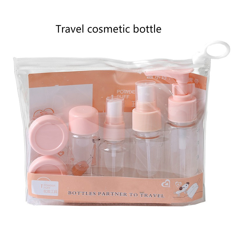 548919dfadcc Travel cosmetic bottle Set, Travel Bottles for Makeup 7 pieces 1621010224