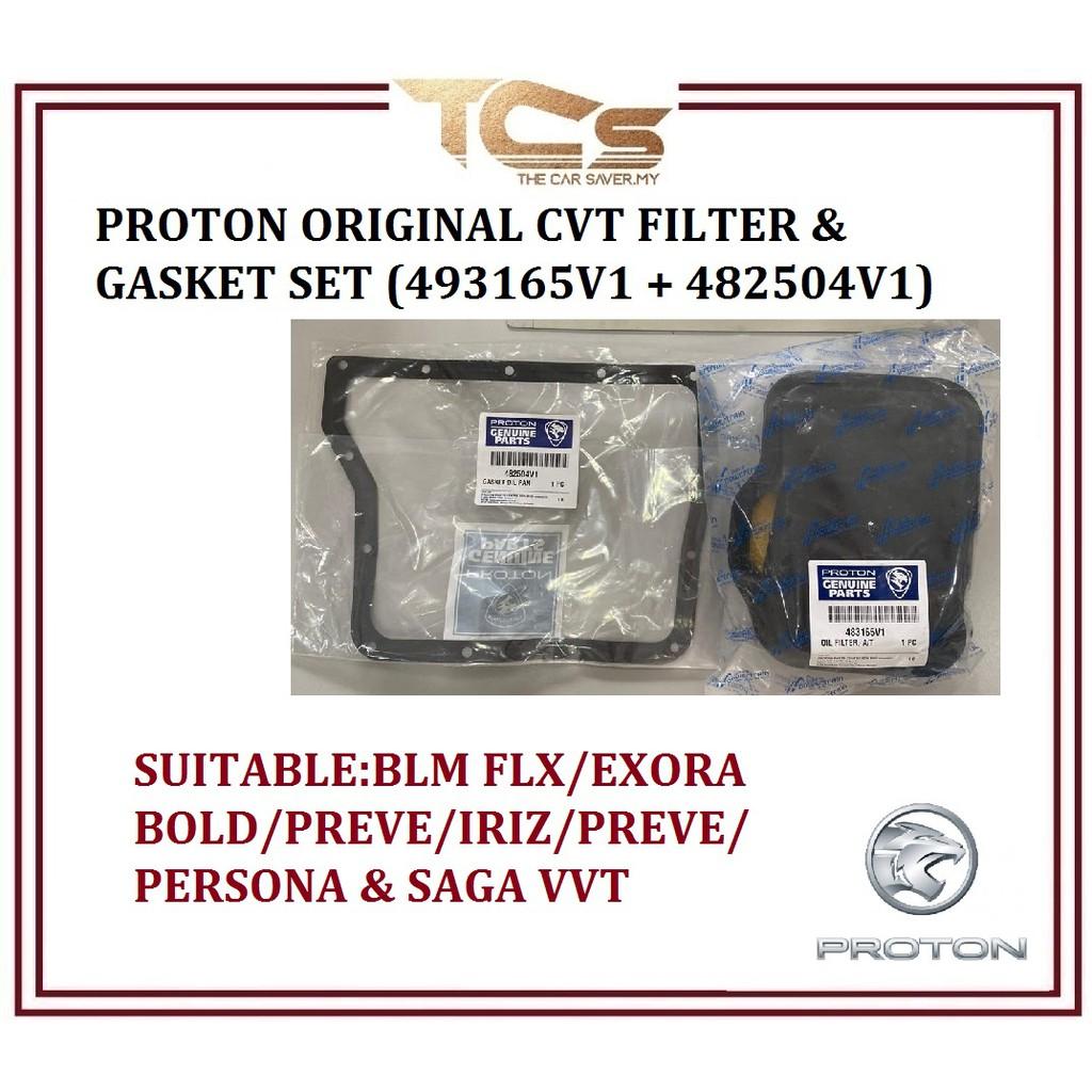 Proton Original CVT Filter & Gasket Set (482504V1 +483165V1)
