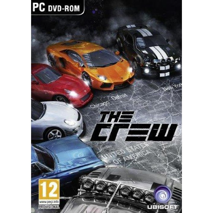 The Crew Standard Edition PC Game Uplay Platform