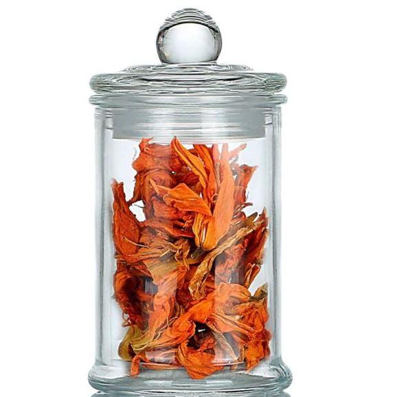 Airtight Storage Glass Jars Clear Container For Spice Food Snacks Tea Bag   Balang Kaca Kedap Udara Kuih Raya   密封储存玻璃罐
