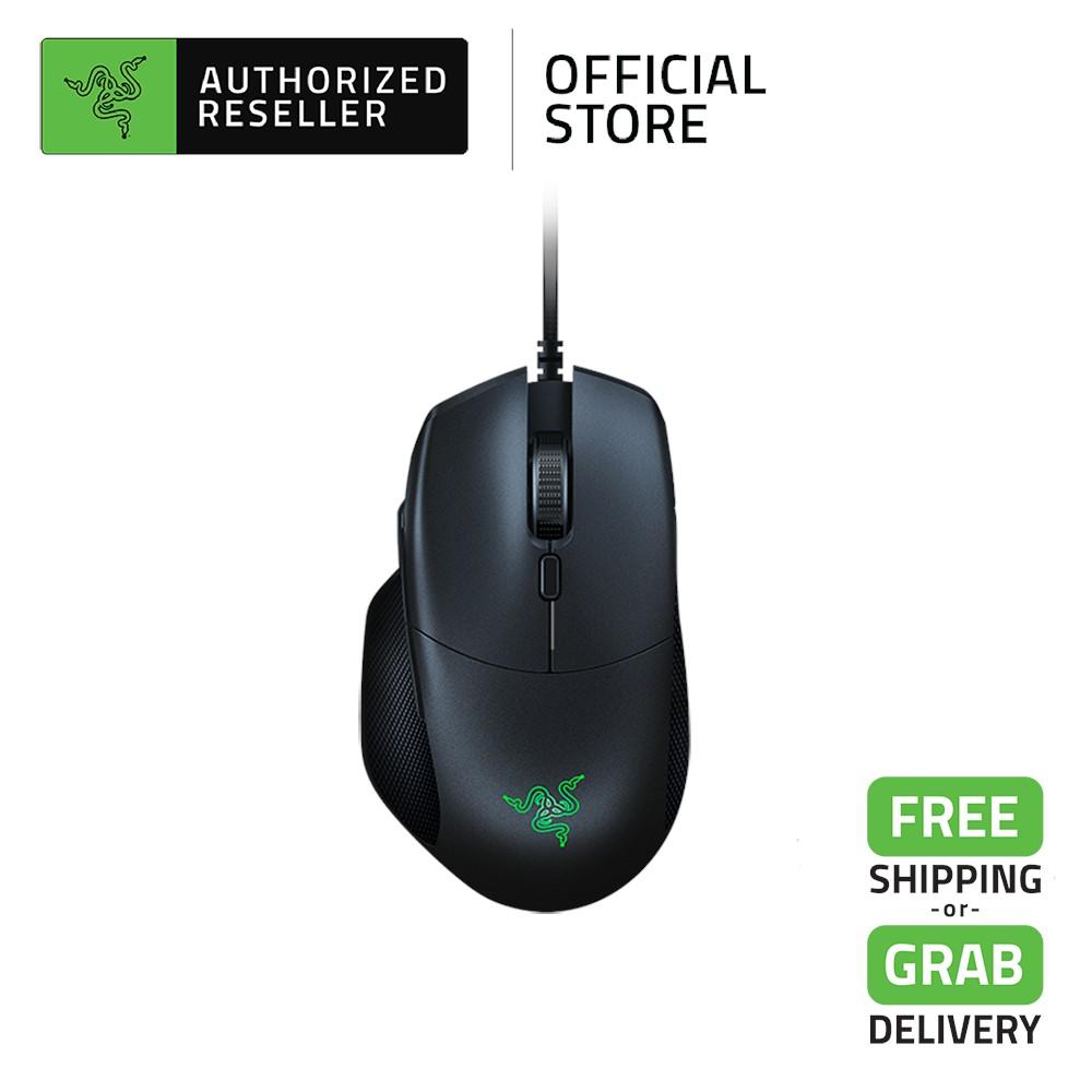 Razer Basilisk Essential Ergonomic Gaming Mouse with Multi-Function Paddle