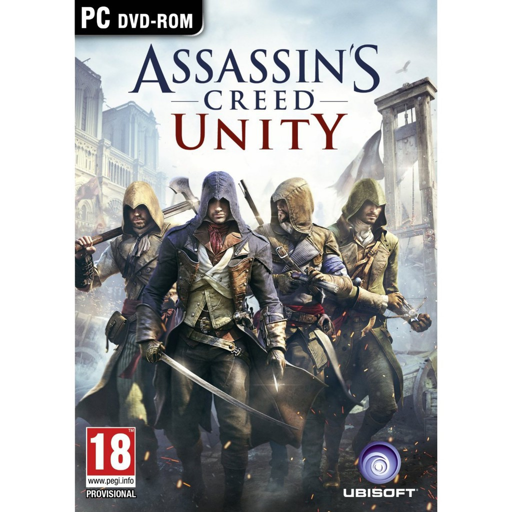 Assassins Creed Unity Gold Edition DLC Included - Offline PC Game with DVD