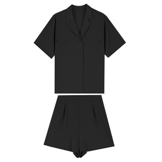 ✁☞Summer Korean small suit cardigan Shorts Set women 2020 new style flavor western leisure two piece