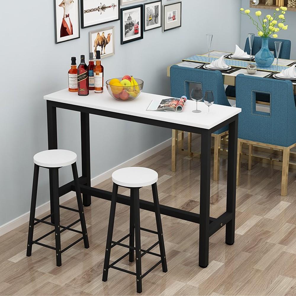 Ciel Living Room Tall Simple Desk 2 X Chair Coffee High Table Long Bar Bar Table Kitchen Pantry ɤæ¡Œ Wine Shopee Malaysia