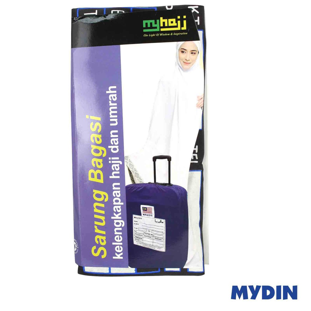 "MyHajj Bag Cover 28"" Black HJ-2800-01"
