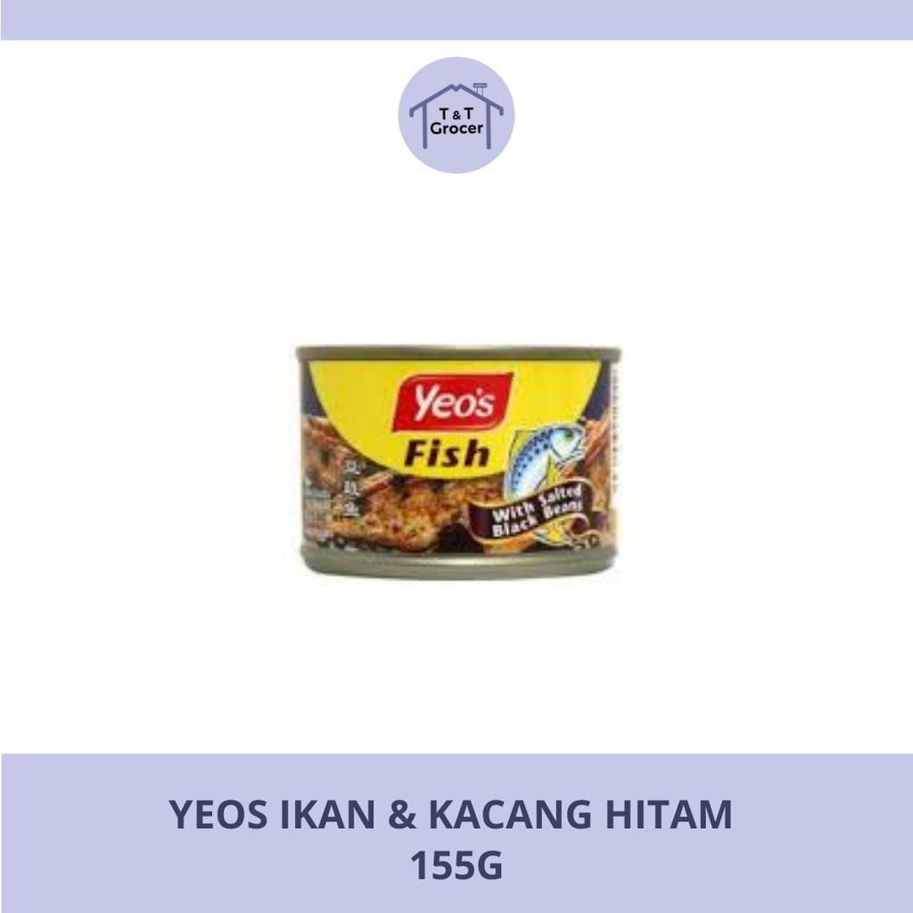 Yeo's Canned Food Ikan & Kacang Hitam 155g
