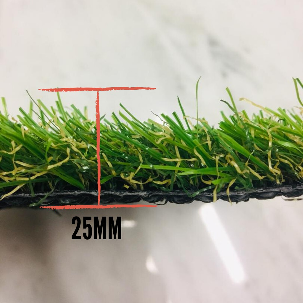 25 MM Artificial Natural Green Grass