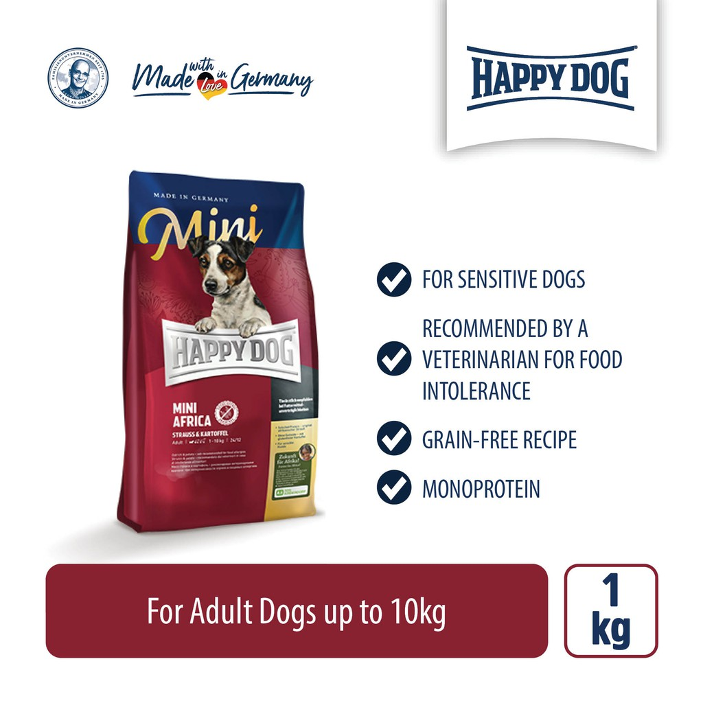 Happy Dog Supreme Mini Africa (1kg)
