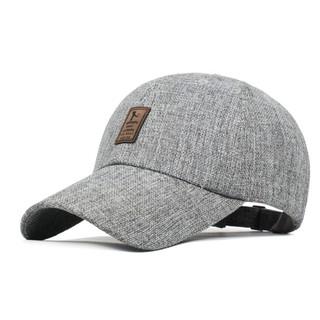 e3e8b3fde Hat men's fashion men's spring hemp standard baseball cap visor ...
