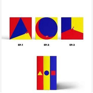 SHINee The Story Of Light EP 1 +2 + 3 albums   Shopee Malaysia