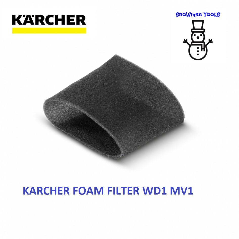 KARCHER WD1 MV1 VACUUM CLEARER FOAM FILTER 28630160