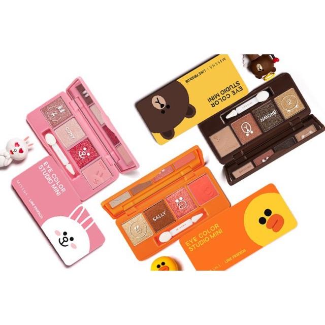 MISSHA Eye Color Studio Mini No.1 Cony Pink (LINE FRIENDS)   Shopee Malaysia