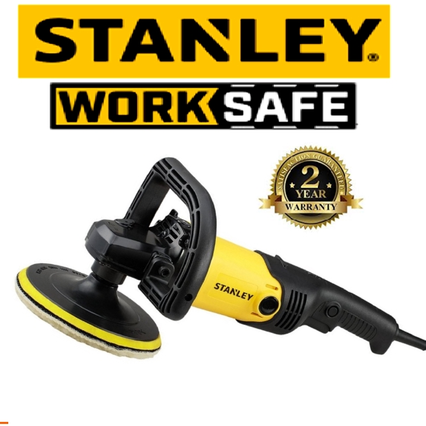 STANLEY SP137-XD POLISHER 1300W 180MM COMPACT POLISHER EASY USE SAFETY GOOD