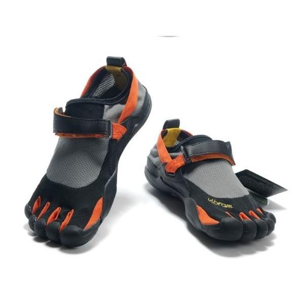 timeless design cfe7b 7d3d2 Vibram Fivefingers KSO Toe Shoes (Orange black)   Shopee Malaysia