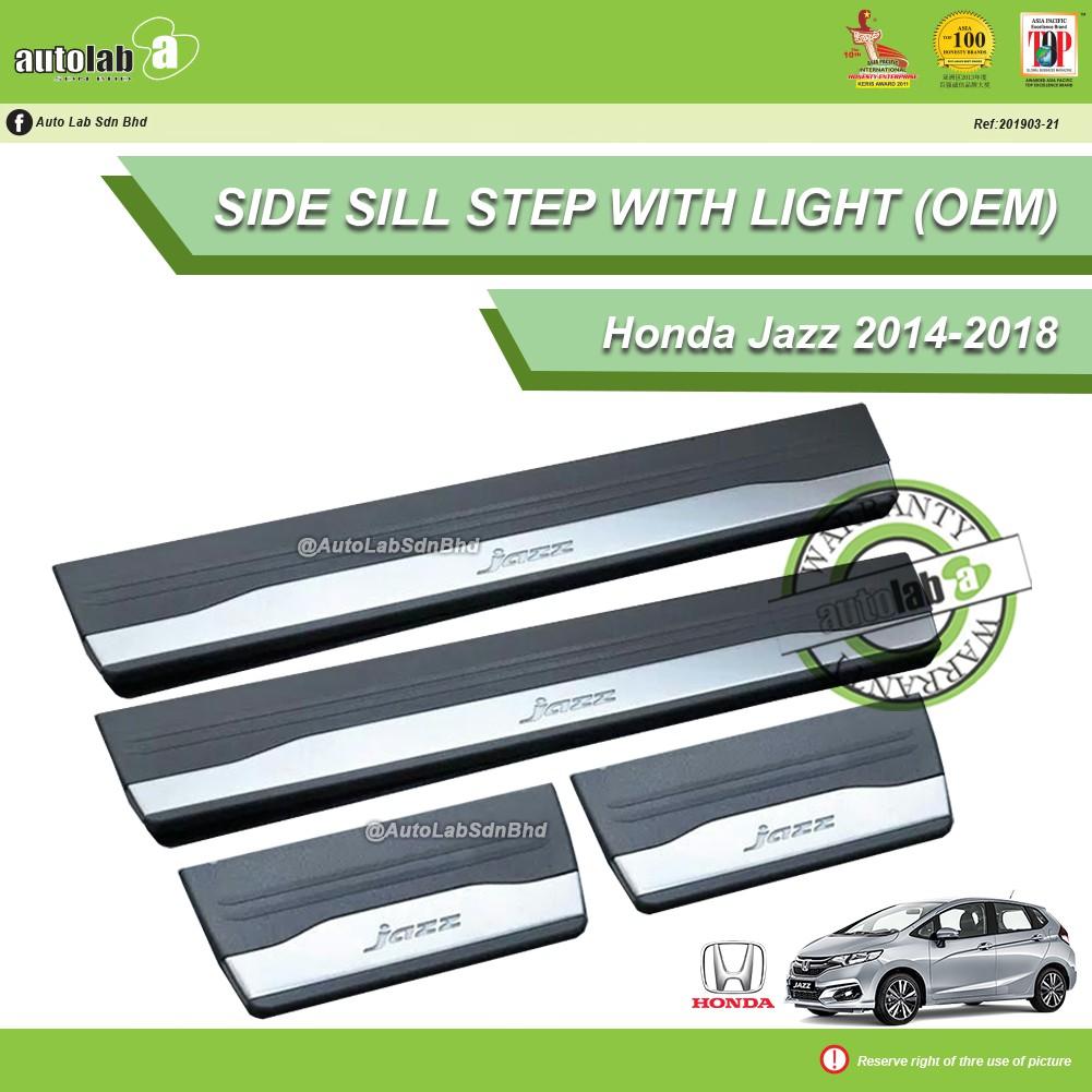 Side Sill Step with LED Light - Honda Jazz 2014-2018