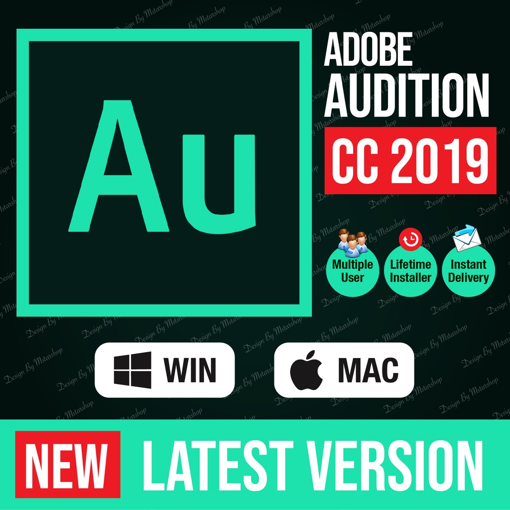 [lifetime version] Adobe Audition CC 2019 window 64bit