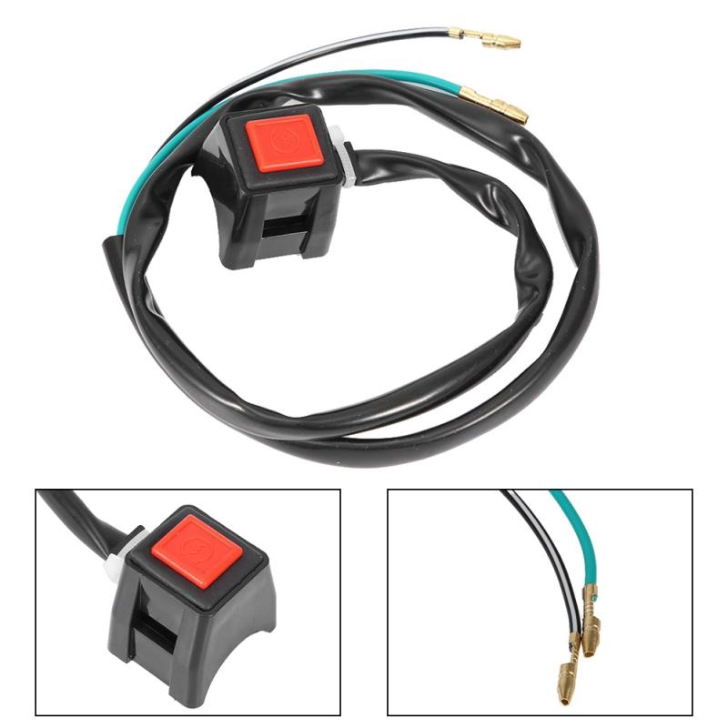 Cuque Kill Stop Switch 12V Universal Engine Cord Lanyard Kill Stop Switch Safety Tether for Motor ATV Boat