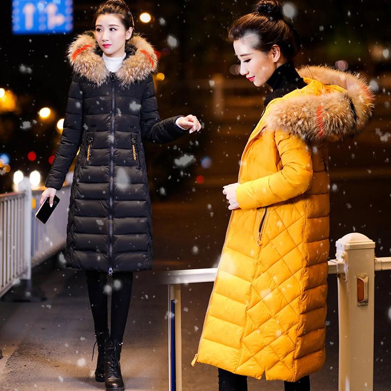 New Fashion Casual Lady Women Winter Warm Long Sleeve Hooded Long Jacket