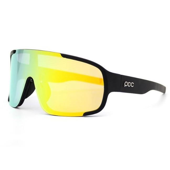 POC 4 Lens Cycling Glasses Bike Sport Sunglasses Men Women Mountain Bicycle