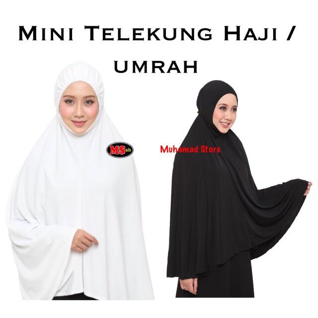 Mini Telekung Haji / umrah
