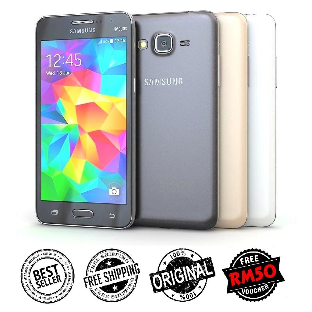 🇲🇾 Ori Samsung Grand Prime G530 Duos 4G LTE Dual Sim [8GB + 1GB RAM] FREE RM50 Voucher [1 Month Warranty]