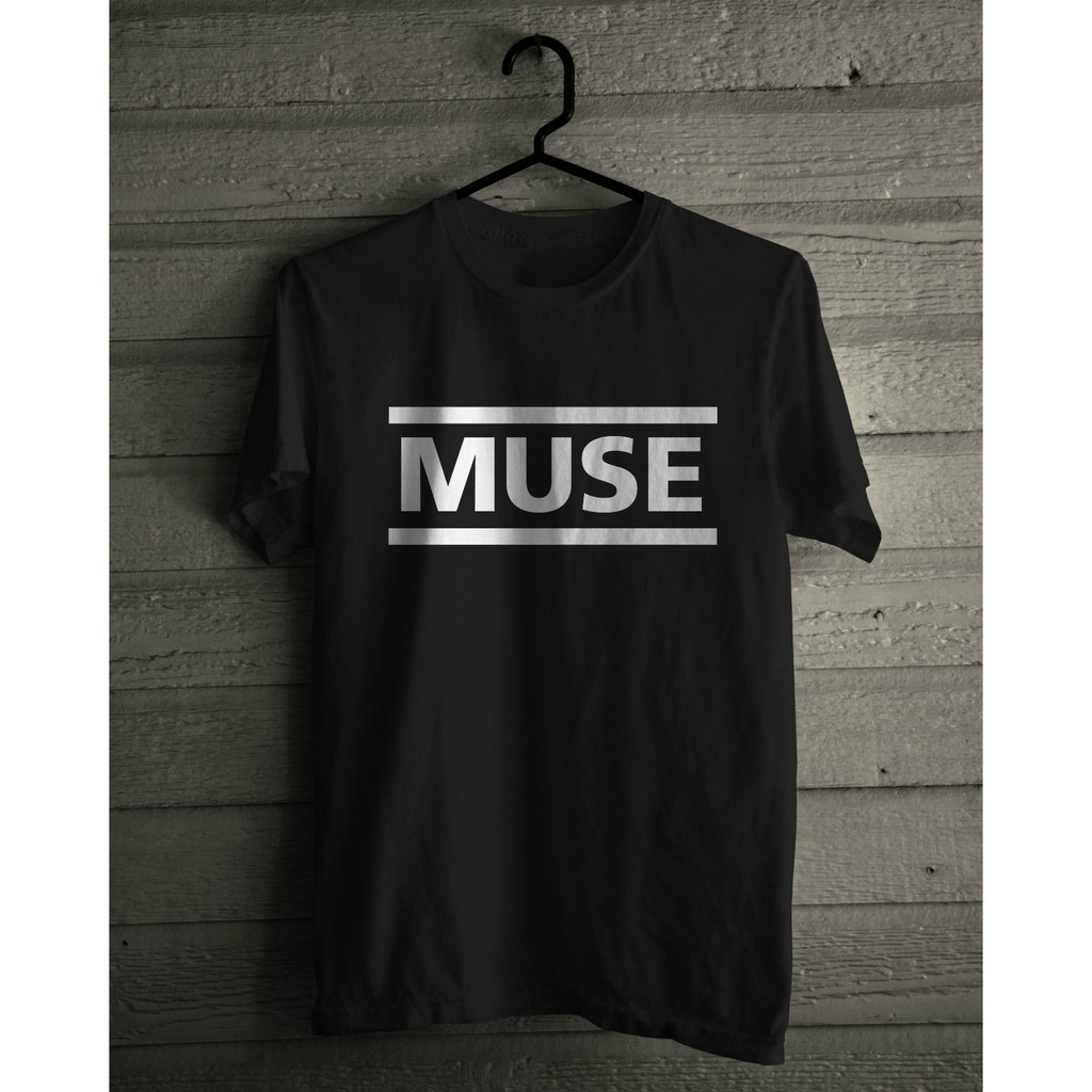 Official T Shirt MUSE Black LOGO Band Tee All Sizes