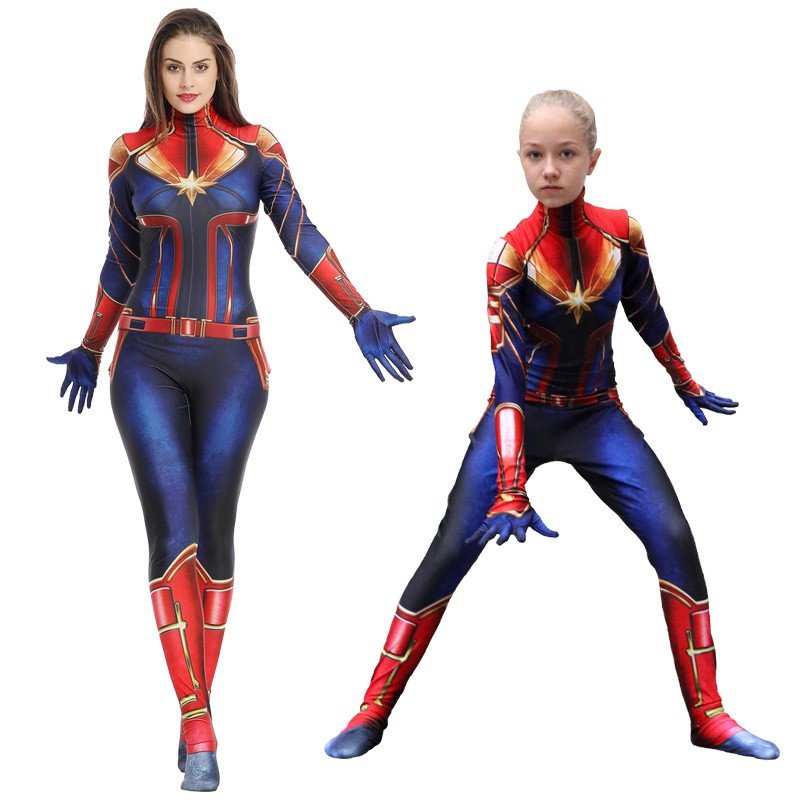 3d Movie Version Captain Marvel Carol Cosplay Costume Superhero Suit Jumpsuits Shopee Malaysia We were entirely replacing her costume with a cg one in the begining of the film. 3d movie version captain marvel carol cosplay costume superhero suit jumpsuits