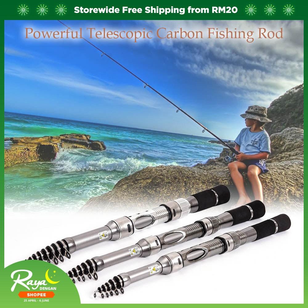 Telescopic Carbon Fiber Fishing Rod Retractable Fishing Pole