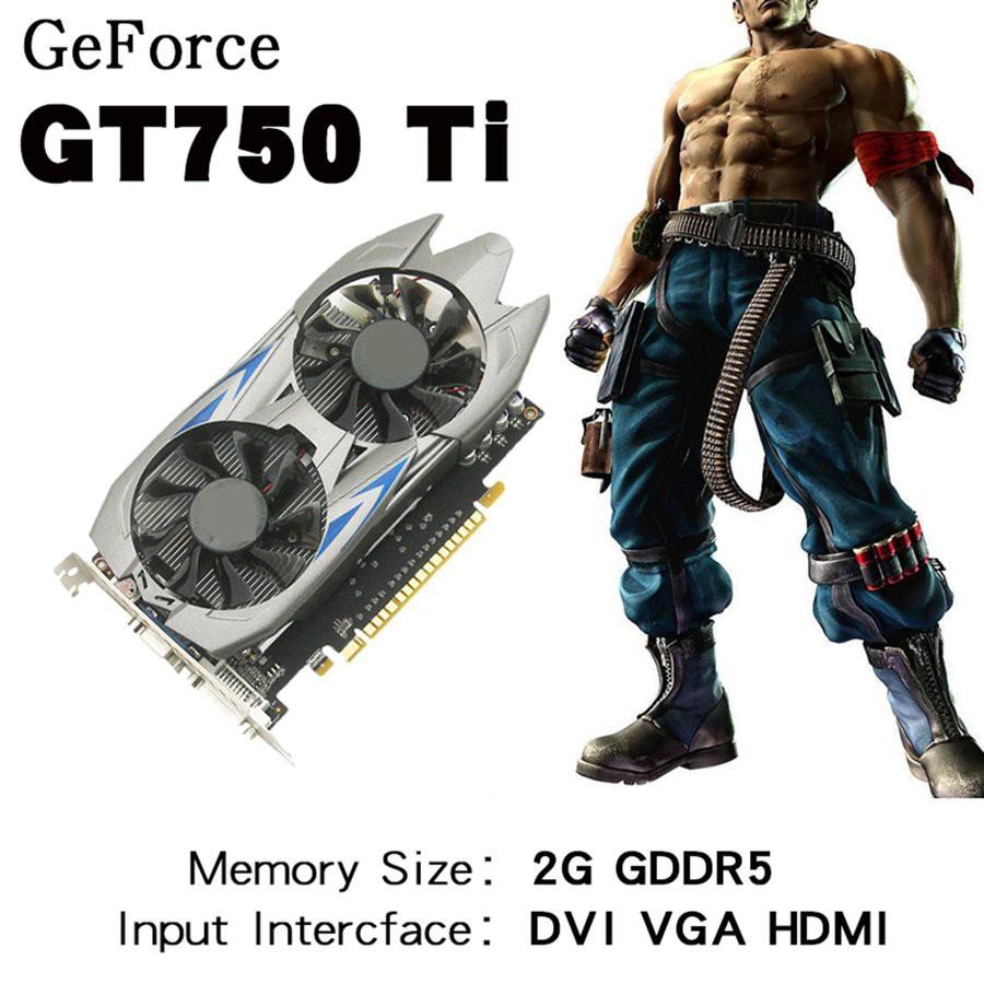 2GB DDR5 128Bit PCI-Express VGA/DVI/HDMI Video Graphics Card For GTX 750Ti