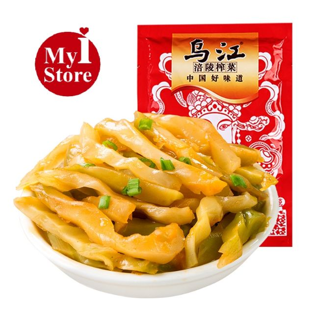 乌江涪陵榨菜 80g WuJiang Pickle Preserved Vegetable Zhacai