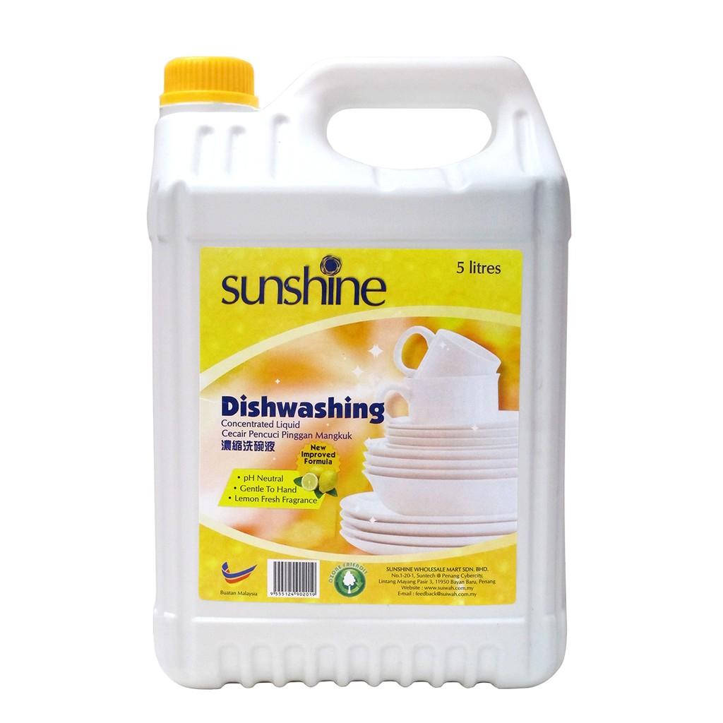 Sunshine Lemon Dishwash (5L)